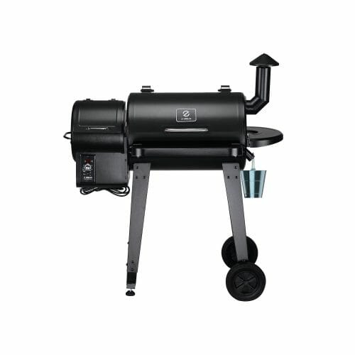 Front view of the Z Grills 450A Pellet Smoker