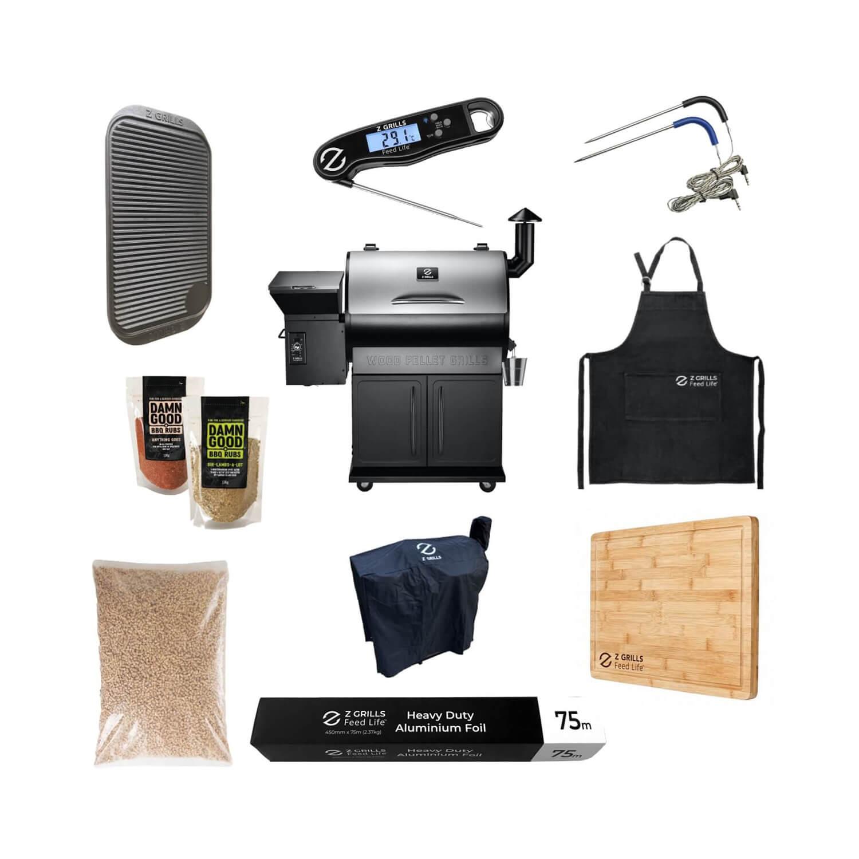 Z Grills 700E Starter Kit