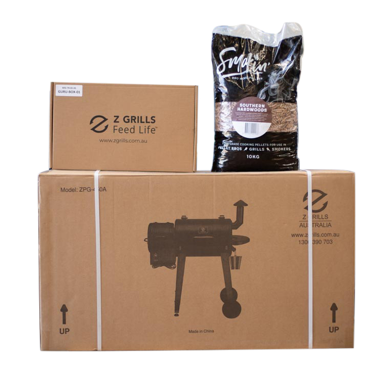 Z Grills 450A Wood Pellet Smoker Box