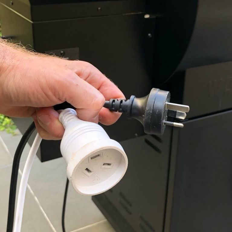 Ignition Rod Replacement - Step 1 Unplug Power