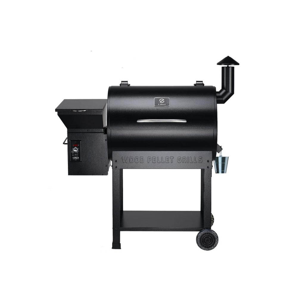 Front view of the Z Grills 7002B Pellet Smoker