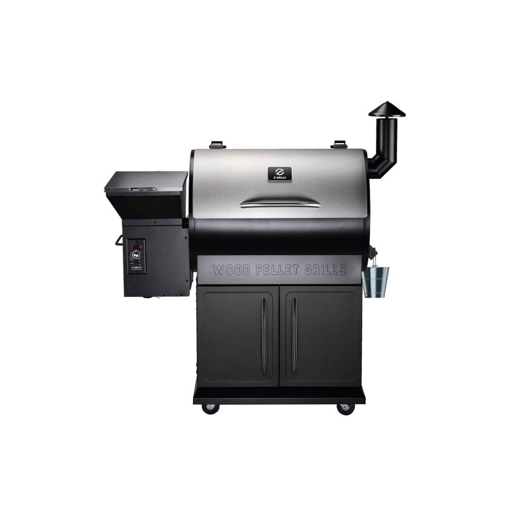 Front view of the Z Grills 700E Pellet Smoker