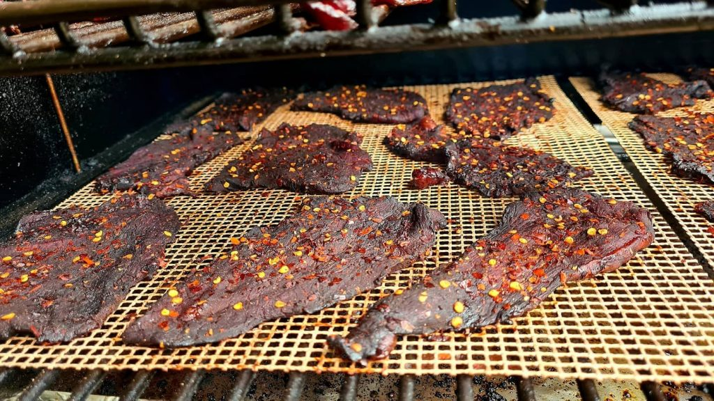 Mathew handley - Mats hot (spicy) beef jerky 5
