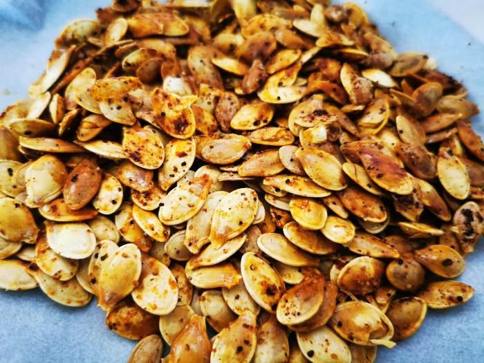 Roasted Pumpkin Seeds pellet smoker 3 - Z Grills Australia