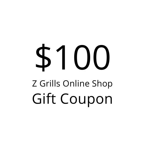 Z Grills $100 gift coupon