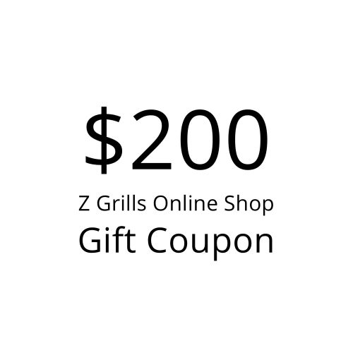 Z Grills $200 gift coupon