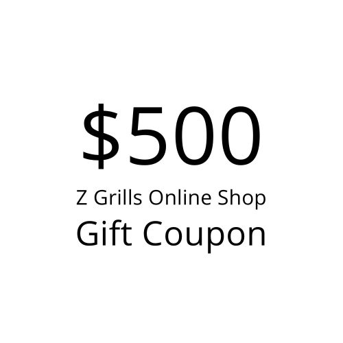 Z Grills $500 gift coupon