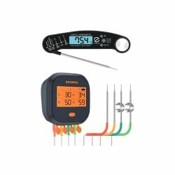 Thermometer Bundle Inkbird IBBQ-4T & Instant Read Thermometer